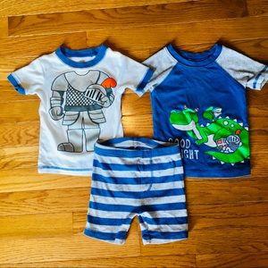 Carter's Good Knight Pajama Set